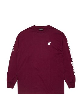 Forever Solid Bomb Crest L/S Shirt by The Hundreds