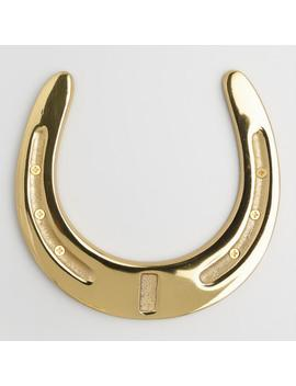 Brass Horseshoe Decor by World Market