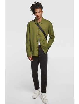 Overshirt With Pockets  View All Shirts Man Sale by Zara