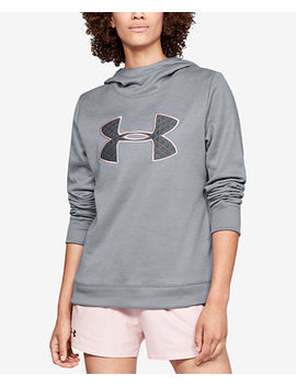 Armour Fleece Printed Metallic Logo Hoodie by Under Armour