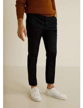 Pantalón Skinny Crop by Mango