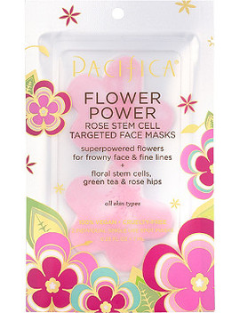 Flower Power Rose Stem Cell Targeted Face Masks by Pacifica