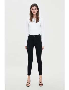Vintage Hi  Rise Skinny Jeggingjeans Trf New Collection by Zara