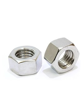 "1/4"" 20 Stainless Hex Nut (100 Pack), By Bolt Dropper, 304 18 8 Stainless Steel Nuts. by Bolt Dropper"