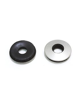 "1/4"" X 5/8"" Od Stainless Epdm Washers, (100 Pc) Neoprene Backed, Choose Size & Qty, By Bolt Dropper. by Bolt Dropper"