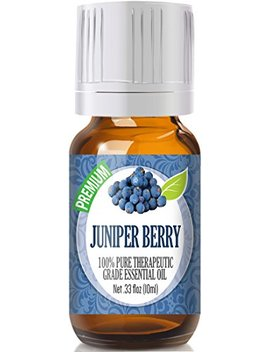 Juniper Berry 100 Percents Pure, Best Therapeutic Grade Essential Oil   10ml by Healing Solutions