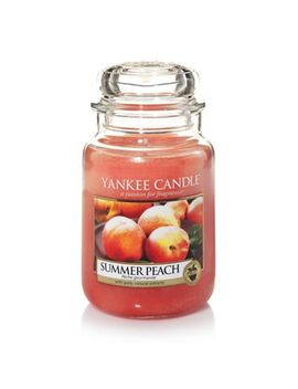 Yankee Candle   Large Classic 'summer Peach' Scented Jar Candle by Yankee Candle