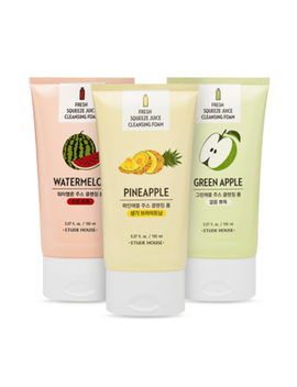 Etude House   Fresh Squeeze Juice Cleansing Foam 150ml (3 Types) by Etude House