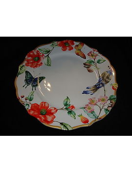 New 222 Fifth Ambri Set Of 4  Dinner Plates by 222 Fifth