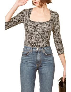 Jorja Square Neck Top by Reformation