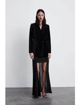 Velvet Jacket  Outerwearstarting From 50 Percents Off Woman Sale by Zara