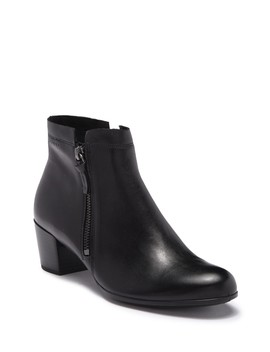 Leather Ankle Boots by Ecco