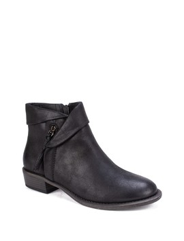 Driver Faux Leather Bootie by White Mountain