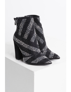 Cape Robbin Be The One Bedazzled Ankle Boot by Akira