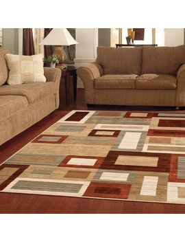 Better Homes & Gardens Franklin Squares Area Rug Or Runner by Better Homes & Gardens