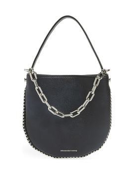 Mini Roxy Leather Hobo Bag by Alexander Wang