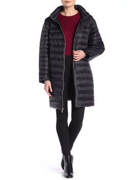 Zip Front Puffer Jacket by Michael Michael Kors