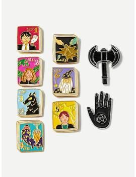 Figure & Hand Detail Brooch Set 9pcs by Sheinside