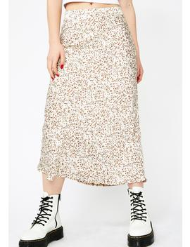 Floral Fantasia Midi Skirt by Sans Souci Clothing
