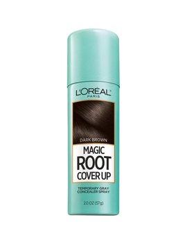 L'oreal Paris Magic Root Cover Up Gray Concealer Spray Dark Brown, 2 Oz( by L'oreal Paris