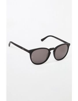 Wonderland Beaumont Black Sunglasses by Pacsun