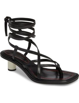 Wraparound Ankle Strap Sandal by Proenza Schouler