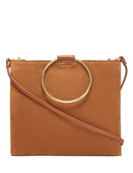 Le Pouch Suede Slim Cross Body Bag by Thacker
