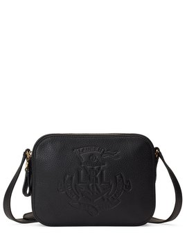 Anchor Leather Camera Cross Body Bag by Lauren Ralph Lauren