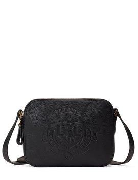 Anchor Leather Camera Cross Body Bag by Lauren Ralph Lauren