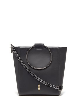 Le Bucket Ring Handle Cross Body Bag by Thacker