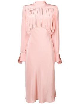 Draped Front Dress by Erika Cavallini
