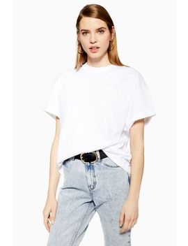 Boxy Roll T Shirt by Topshop