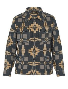 Jacquard Cotton Overshirt by Rrl