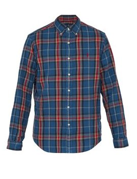 Checked Cotton Shirt by Polo Ralph Lauren