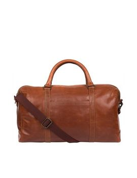 Made By Stitch   Treacle 'konan' Leather Handcrafted Holdall by Made By Stitch