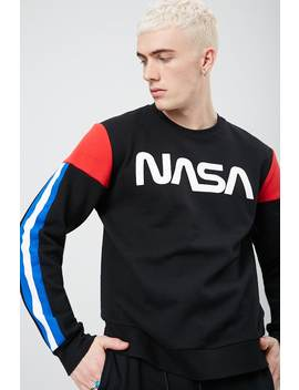 Nasa Colorblock Fleece Sweatshirt by Forever 21