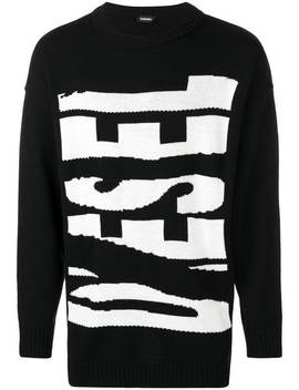 Maxi Logo Pullover by Diesel
