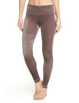Posh High Waist Velvet Leggings by Alo