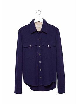 Isabel Marant Nathan Wool Double Pocket Shirt by Isabel Marant