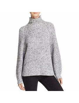 T By Alexander Wang Womens Mock Turtleneck Long Sleeves Pullover Sweater by T By Alexander Wang