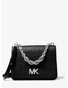 Mott Large Deco Quilted Leather Crossbody by Michael Michael Kors