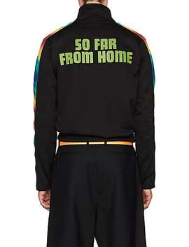 """Essentially Time Traveling"" Terry Track Jacket by Off White C/O Art Dad"