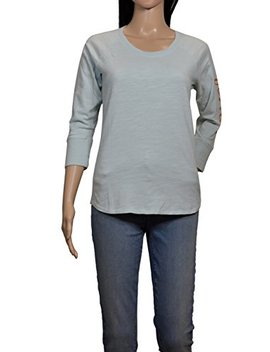 James Perse Light Blue California Long Sleeve T Shirt by James Perse