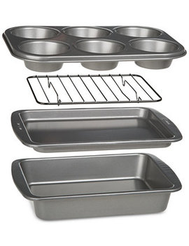 Bake Ins Non Stick 4 Pc. Toaster Oven Bakeware Set by Epoca