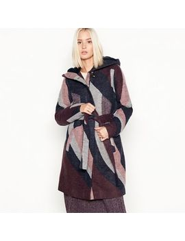 Vila   Multi Colour Block 'marla' Hooded Jacket by Vila