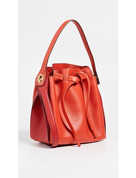 Shoelace Drawstring Small Bucket Bag by Anya Hindmarch