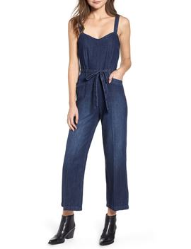 Emma Denim Jumpsuit by Paige