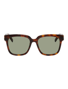 Brown Sl M40 Sungalsses by Saint Laurent