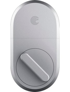 Smart Door Lock   Silver by August