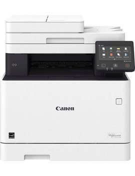 Color Image Class Mf731 Cdw Wireless Color All In One Printer   White by Canon